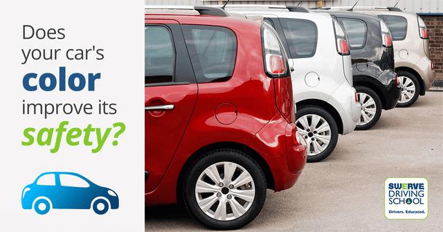Safest Car Color: Drivers Education Blog