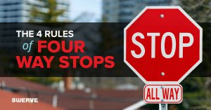 The 4 Rules of 4 Way Stops   Swerve Driving School