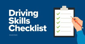 Driving Skills Checklist | Swerve Driving School