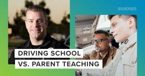 Driving School vs. Parent Teaching | Swerve Driving School