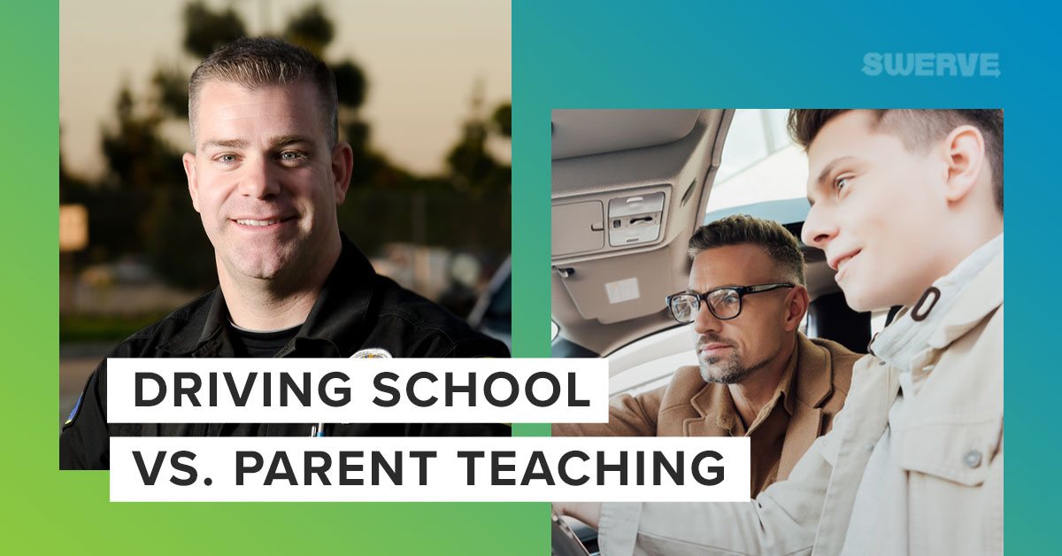 Driving School vs. Parent Teaching | Swerve Driving School