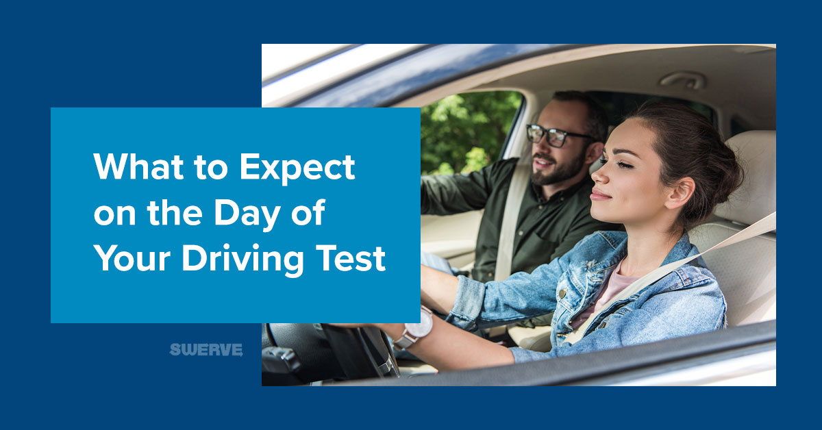 What to Expect on the Day of Your Driving Test | Swerve Driving School