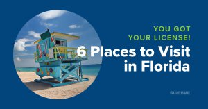 You Got Your License! 6 Places to Visit in Florida | Swerve Driving School