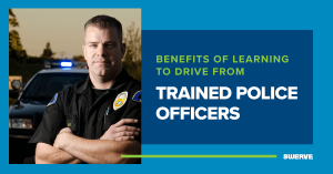 The Benefits of Learning to Drive from Police Officers | Swerve Driving School