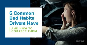 Swerve Driving School - 6 Common Bad Habits Drivers Have and How to Correct Them