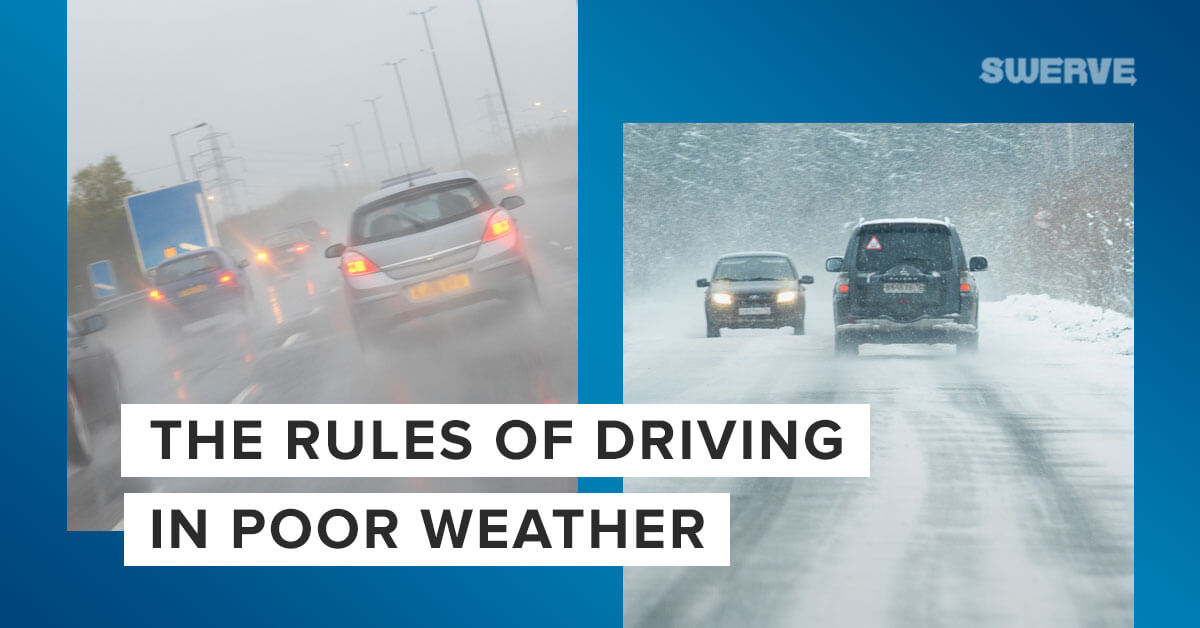 Swerve Driving School - The Rules of Driving in Bad Weather