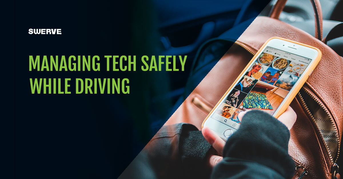 Managing Tech Safely while driving blog