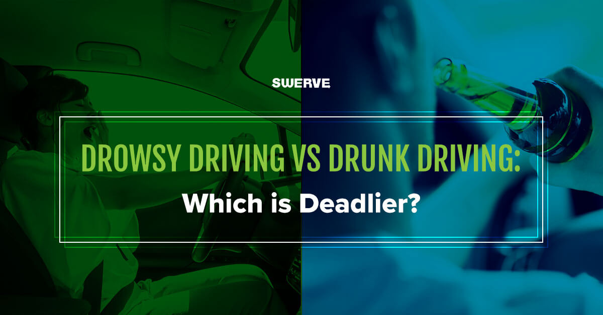 drowsy driving and drunk driving blog image